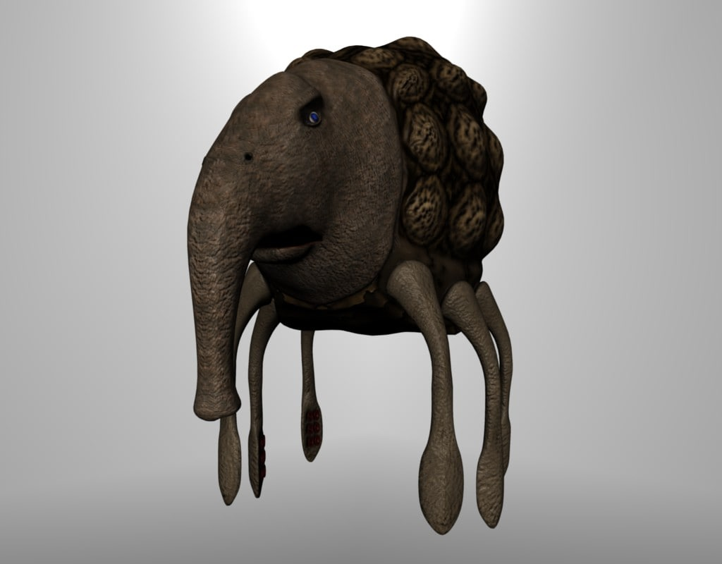 maya fantasy creature