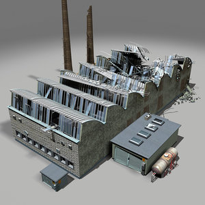 destroyed factory ruin max