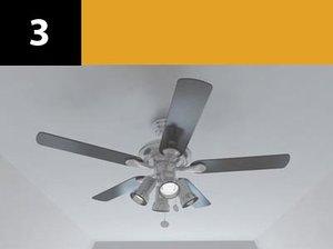 3d ceiling fan 3