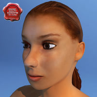 3ds max female human character dasha