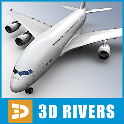 3d 3ds airbus-a380 airbus