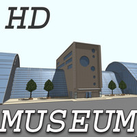 3ds building museum houses