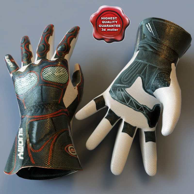 3ds racing gloves