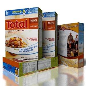 cereal total obj