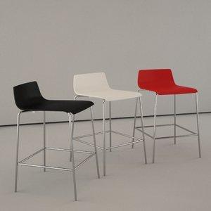 contemporary bar chair corian dwg