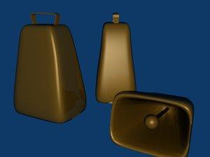farm bell 3d model