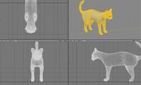 3dsmax domestic cat