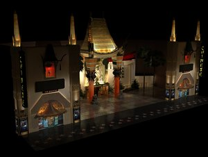 mann chinese theater 3d model