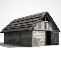 slavian cottage 3d model