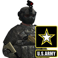army infantry iotv 3d max