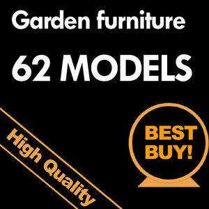 3d tables garden