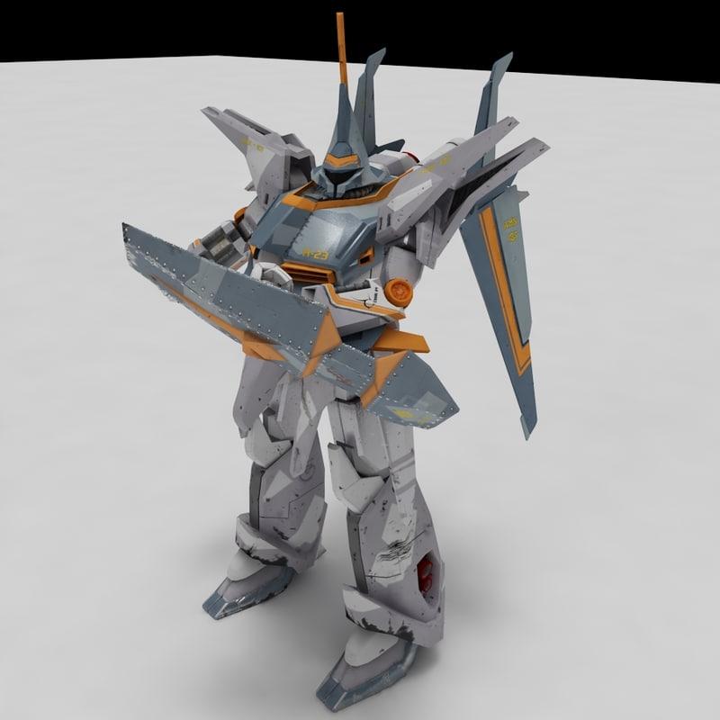 gundam amx-107 bawoo 3d 3ds