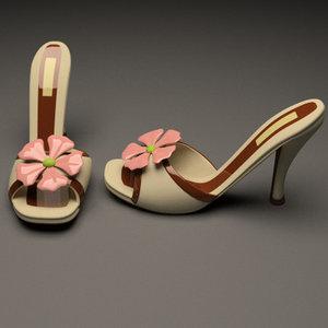 maya slippers heel
