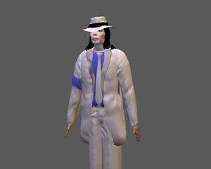 3d model michael jackson