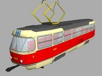 tatra t3 3d model
