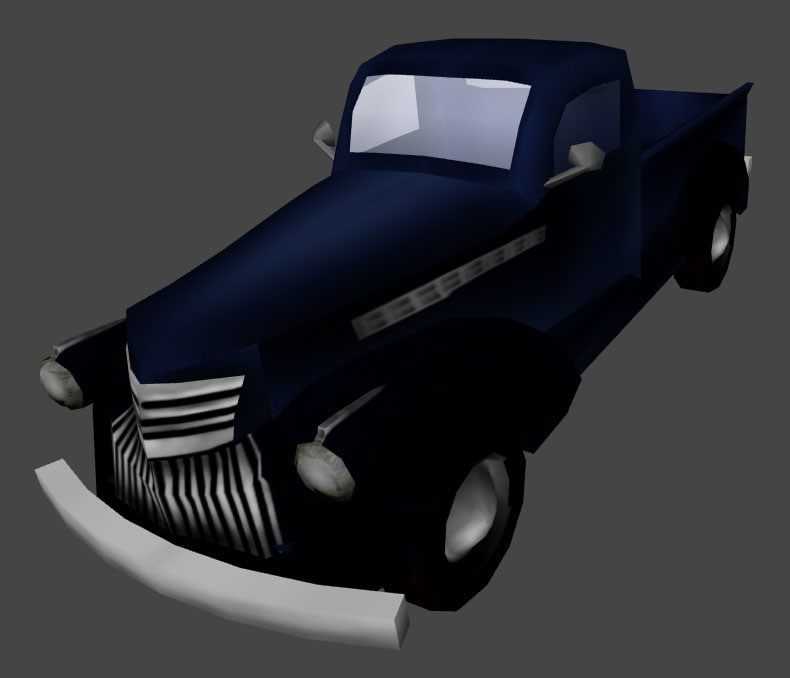 chevy pickup 3d x