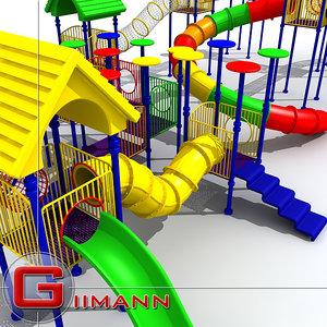 childrens playground 3d 3ds