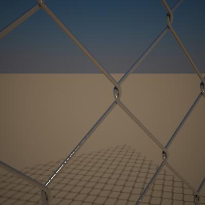 3d model metal wire mesh
