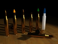 5.56 x 45 Ammunition and all variations