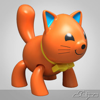 cat toy 3d model