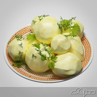 Boiled Potatoes Garnish