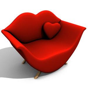love seat design 3ds