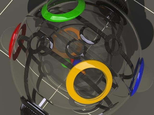 rubic 360 standard materials 3d model