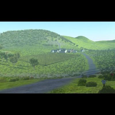 3dsmax landscape villages land