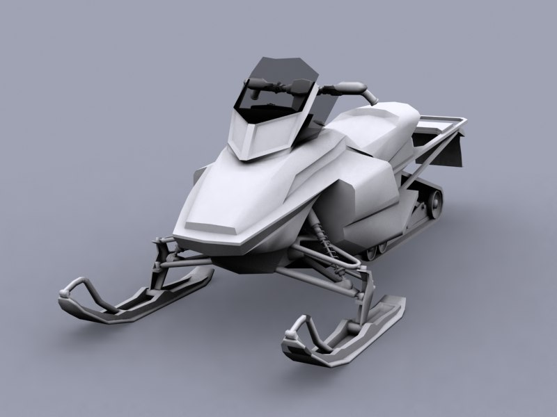 3d modified skidoo model