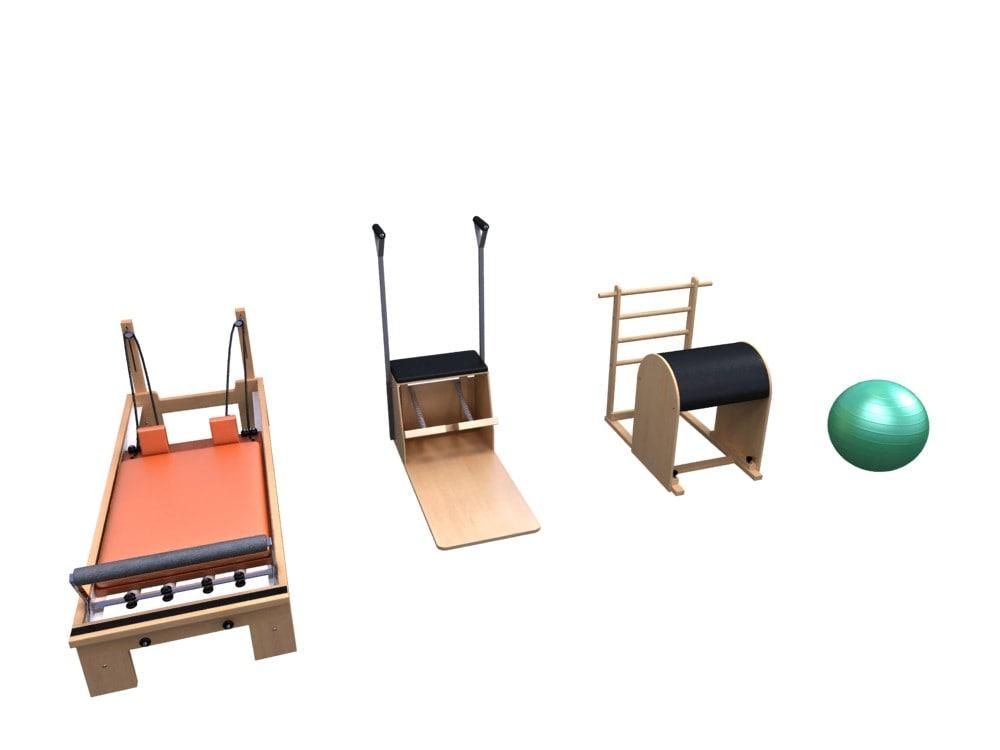 3d model pilates yoga
