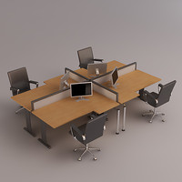 3d desk set
