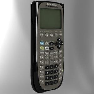3d ti-89 calculator model