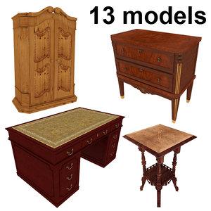 3ds max classic furniture pack 13