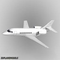 Dassault Falcon 2000 Generic white