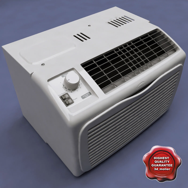 3ds max air conditioner kenmore