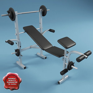 lightwave bench press powercenter