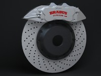 Brabus Brake Caliper and Disc