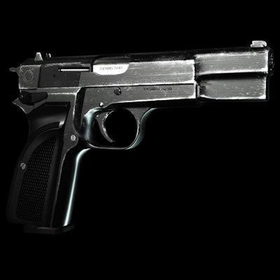 maya browning hand gun