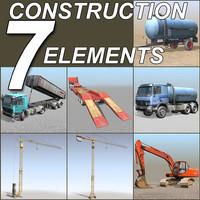 3d construction-public works
