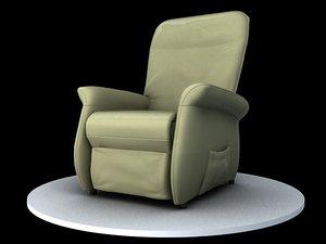 massage chair obj
