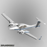 Diamond DA42 Twin Star Private livery 4