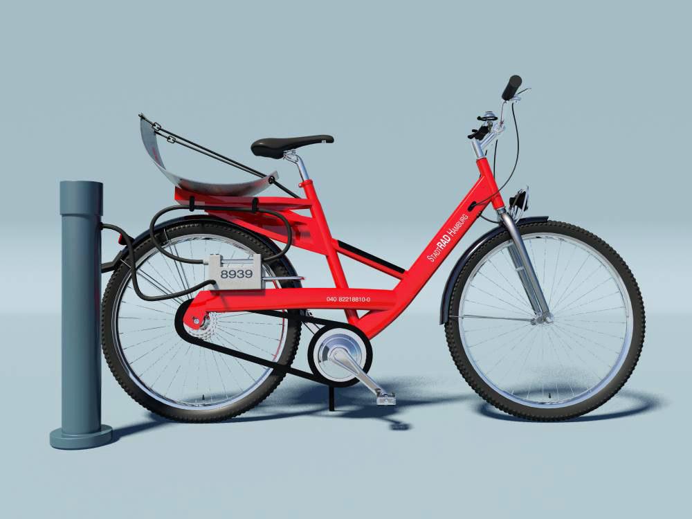 3d deutsche bicycle model