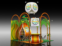 3d max display booth 12