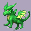 3ds green dragon