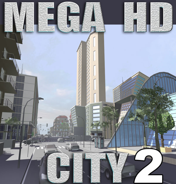 3d max city buildings
