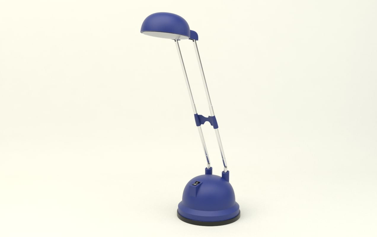 accurate desk lamp 3ds