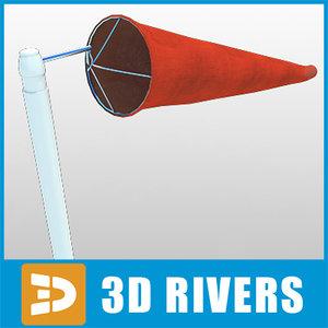 3d air speed indicator model