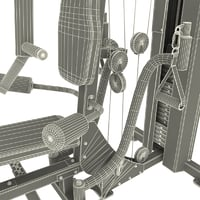 3ds max multi gym v2