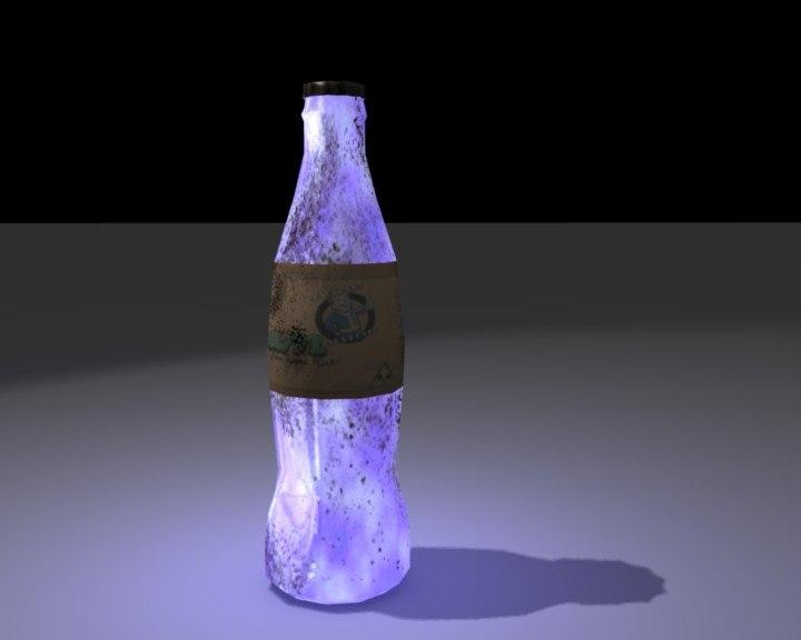 3d 3ds fallout nuka cola quantum