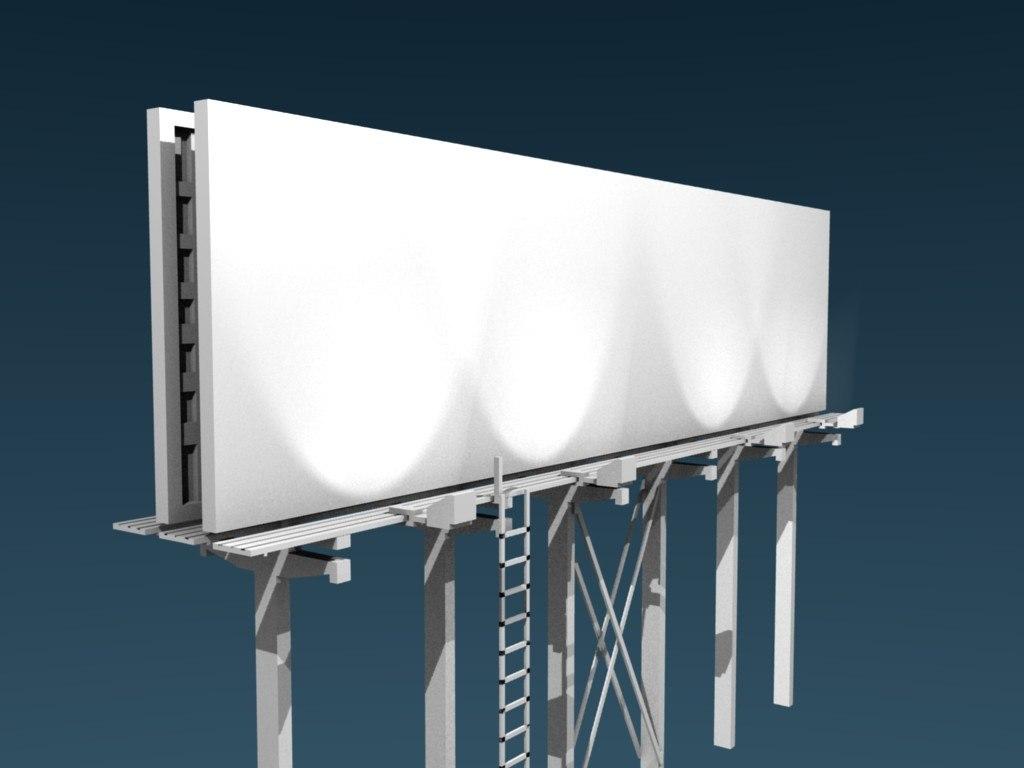 billboard bill board 3ds